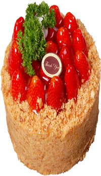 WRT10-Strawberry Tart Cake