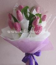 WSS08-Tulip Bouquet