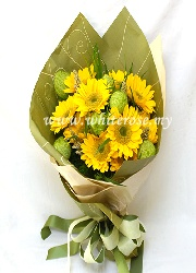 WFD02-Yellow Gerbera